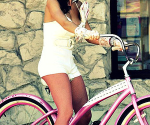 katy perry, bike, and pink image