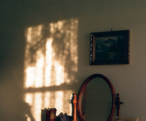 mirror, photography, and vintage image