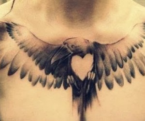 chest, tattoo, and Tattoos image