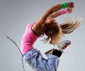 girl and dance image