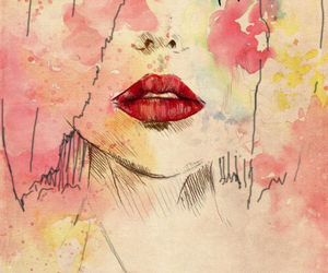 art and watercolour image