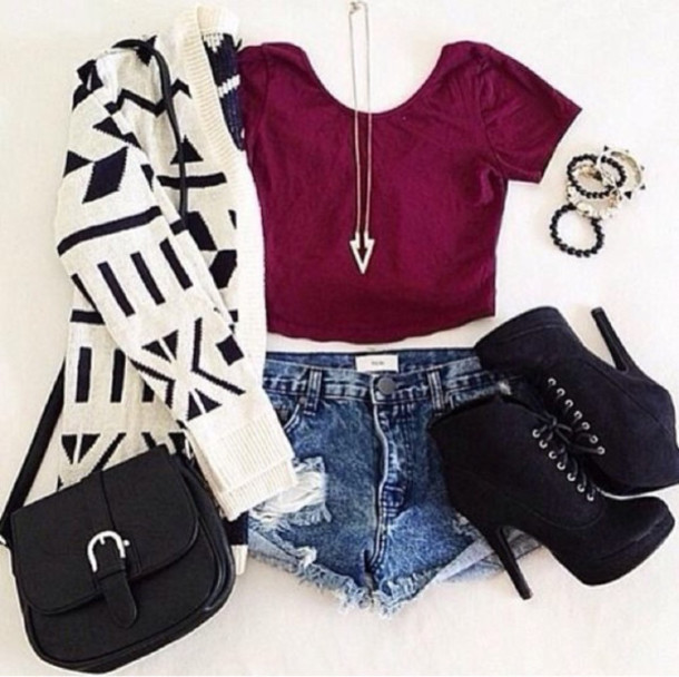 Cute outfits tumblr crop top Ebay Shorts Jewels Jeans Blouse Jeans Short Fashion Bags Sweater Cardigan Aztec Cute Outfit Full Outfit Whole Outfit Tumblr Burgundy Crop Tops Pinterest Jacket Shirt Shoes Bag Shorts Jewels Jeans Blouse Jeans