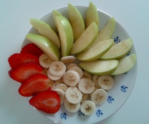 apple, banana, and diet image