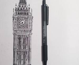 london, art, and drawing image