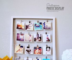 diy, photo, and photo display image