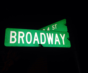 broadway, street, and perfect image