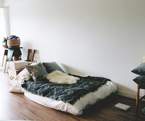 beautiful, bed, and vintage image