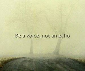 quotes, voice, and echo image