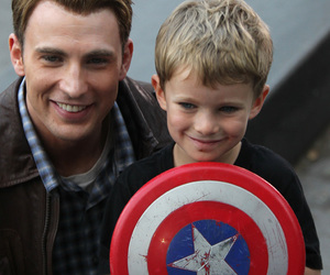 captain america, chris evans, and love image