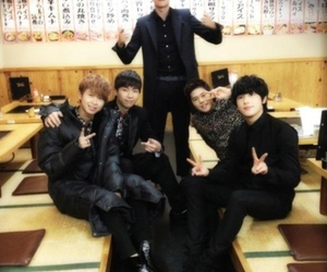 ze:a, kevin, and siwan image