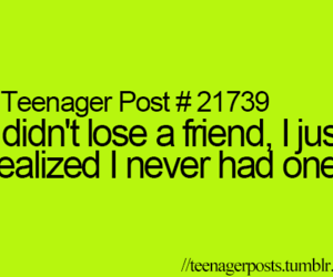 teenager post, friends, and lose image