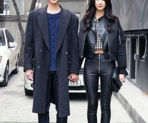 fashion, couple, and korean image