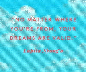 Dream, quote, and where image