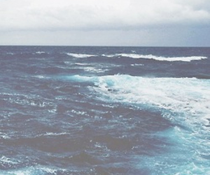 background, blue, and ocean image