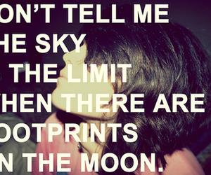 limit, moon, and sky image
