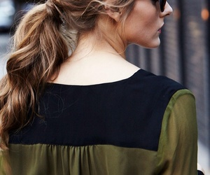 fashion, hair, and olivia palermo image