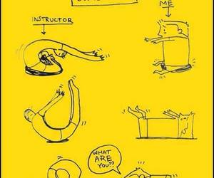 yoga, funny, and lol image