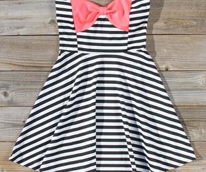 dress, fashion, and bow image