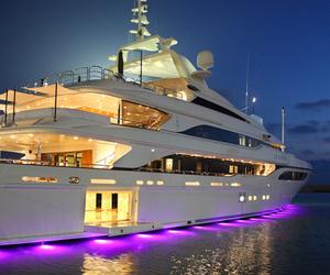 luxury, yacht, and sea image