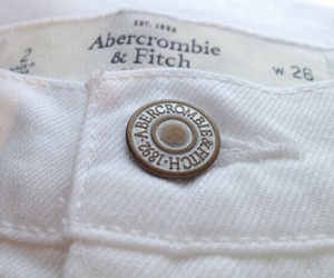 white, fashion, and abercrombie image