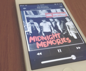 ipod, 1d, and liam payne image