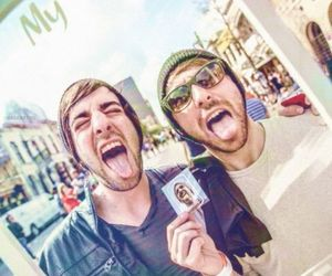 jack barakat, alex gaskarth, and all time low image