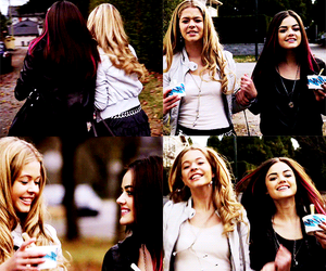 blonde, pretty little liars, and friends image