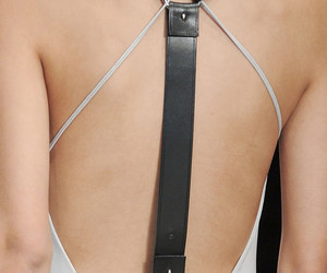 harness, leather, and open back image