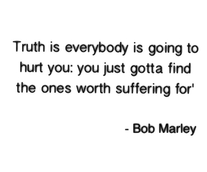 bob marley, life quote, and love image