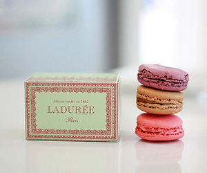 laduree, macarons, and sweet image