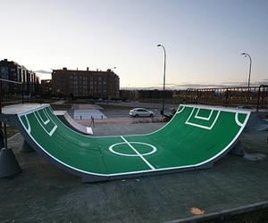 ramp, skate, and football image