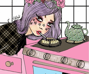 valfre, art, and tea image