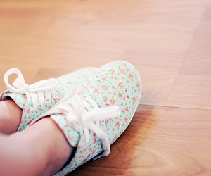 floral, shoes, and pretty image