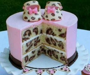 cake, pink, and shoes image