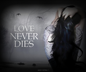 book, love, and die image