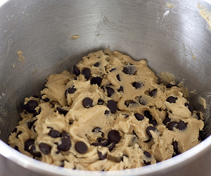 cookie dough, food, and cookie image