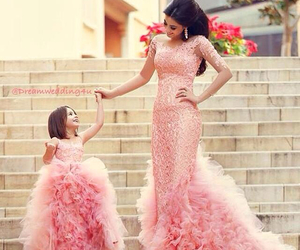 awesome, beauty, and flower girl dress image