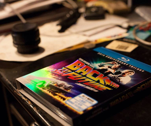 Back to the Future, comic, and dvd image