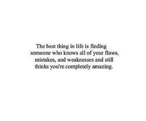 love, amazing, and quote image