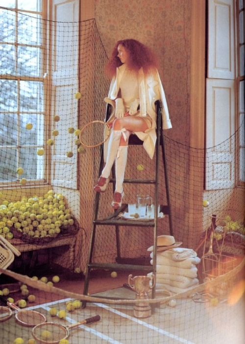 Lily Cole and fashion image