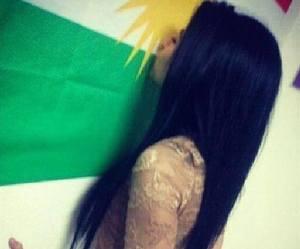 kurdish girl image