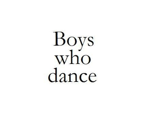 boy, dance, and quote image