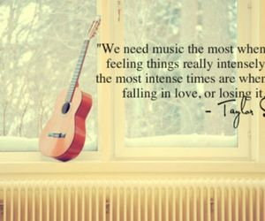 music, quote, and Taylor Swift image