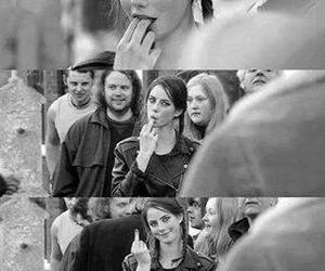 beautiful, black and white, and Effy image