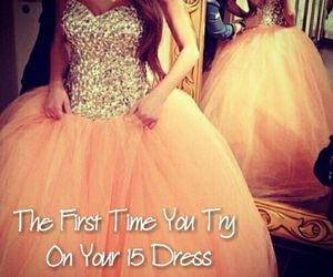 big, dress, and quince image