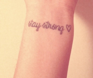 tattoo and staystrong image