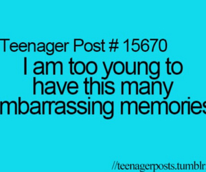 teenager post, funny, and memories image
