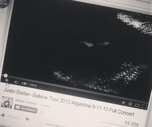 argentina, justin bieber, and believe tour image