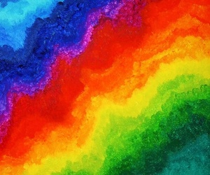 rainbow, background, and colorful image