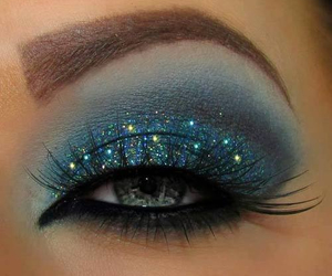 blue, eyes, and makeup image